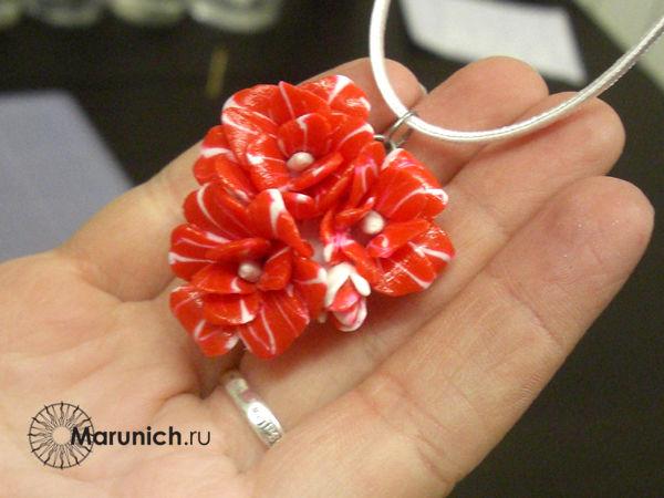 цветы из полимерной иглины уроук, мастер-класс по пластике, лепка цветов, лепка цветов урок