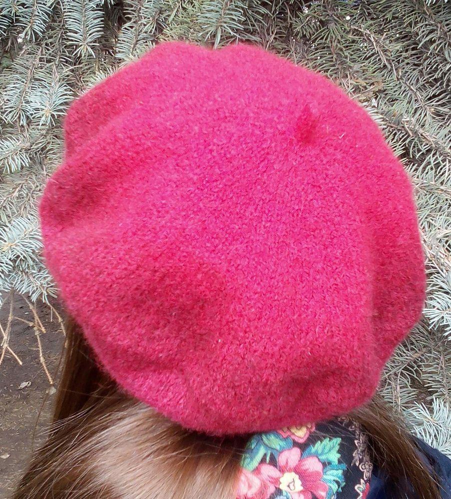 Вязано-валяные береты, фото № 5