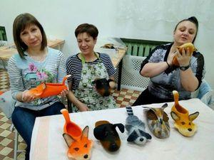 В мире животных. Домашние тапочки со сложным декором (27 июня. Москва) | Ярмарка Мастеров - ручная работа, handmade