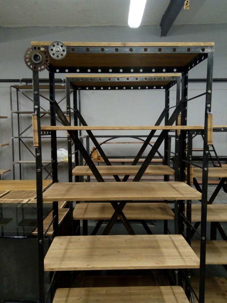 барбершоп, дизайнерская мебель, industrial furniture