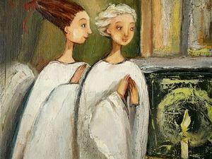 Ангелы ищут свою семью и дом!Аукцион заканчивается сегодня в 16.00 по мск.. Ярмарка Мастеров - ручная работа, handmade.