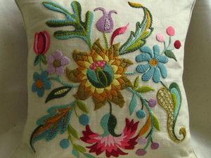 Люблю вышивать шерстью.. Ярмарка Мастеров - ручная работа, handmade.