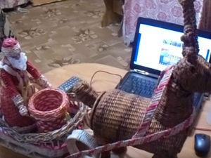 Видео мастер-класс по созданию новогоднего оленя. Часть 2. Ярмарка Мастеров - ручная работа, handmade.