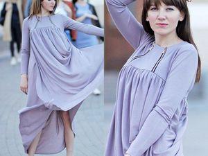 Ассиметричное макси платье. Ярмарка Мастеров - ручная работа, handmade.