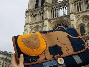 Он побывал в Париже!. Ярмарка Мастеров - ручная работа, handmade.
