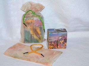 Картинная галерея на кубиках. Ярмарка Мастеров - ручная работа, handmade.