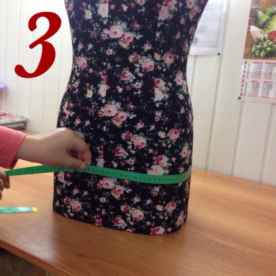 Правильные мерки для юбки-карандаш!, фото № 3