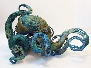 Захватывающая игра щупальцев, или Образы осьминогов в искусстве. Ярмарка Мастеров - ручная работа, handmade.