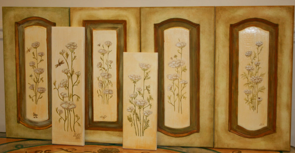 роспись мебели, обновление кухни, мастер-класс по рисвоанию, обучение рисованию, деокрирование мебели