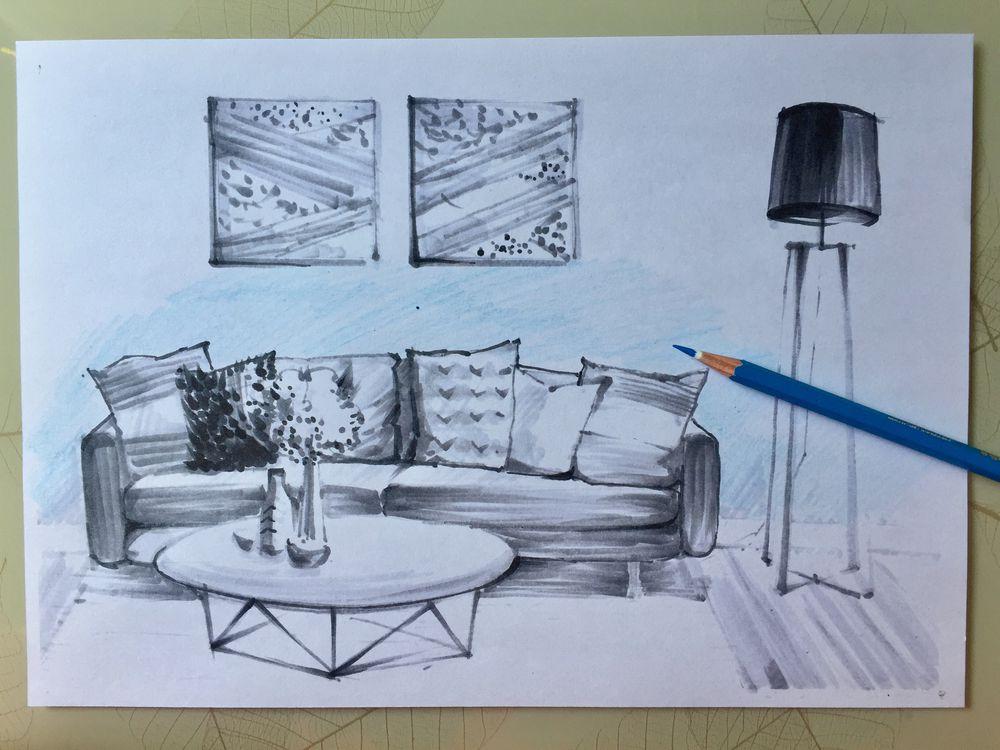 учусь рисовать, рисование для начинающих