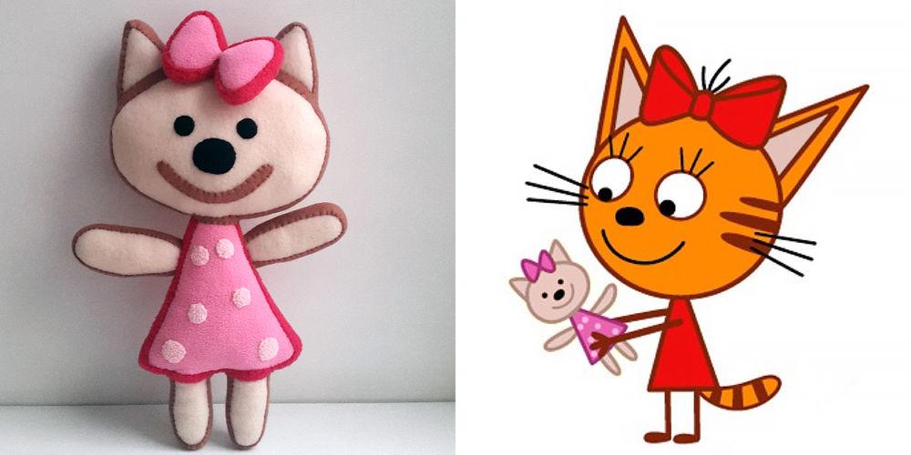 рисунок три кота карамелька как анекдоте цвет