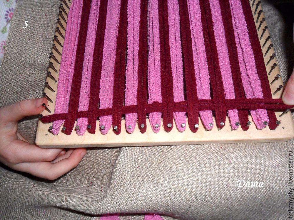 плетение на рамке
