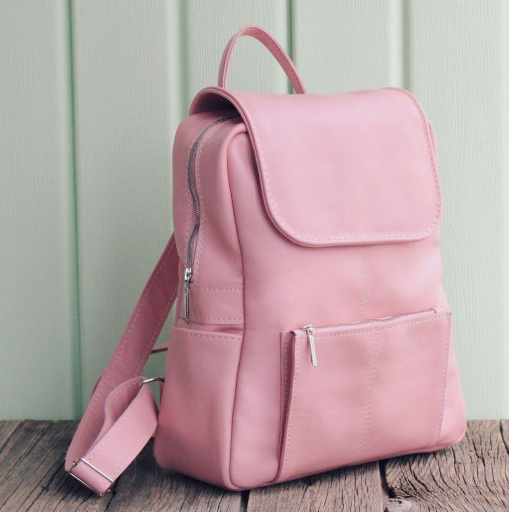 кожаный рюкзак, красивый рюкзак