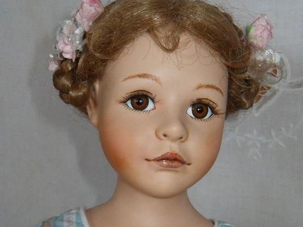 Коллекционная фарфоровая куколка Жюли и Жизель | Ярмарка Мастеров - ручная работа, handmade