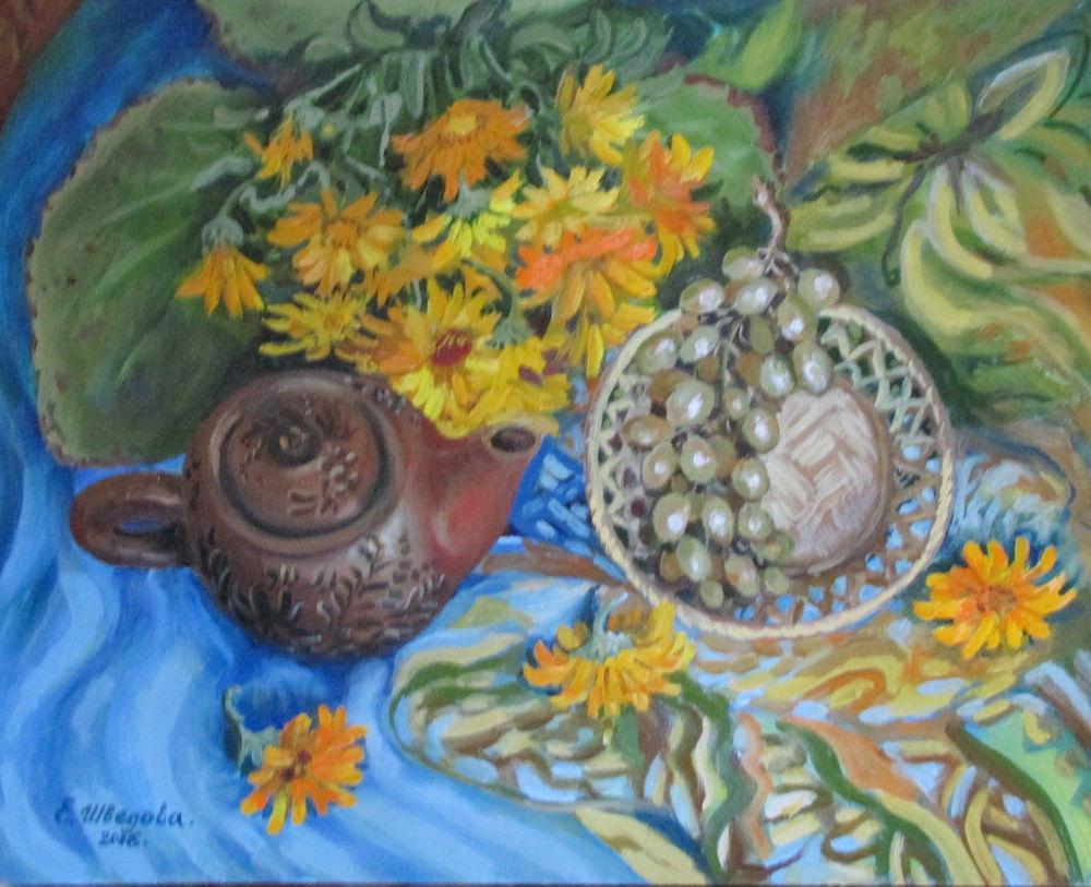 живопись маслом, картина для интерьера, цветы, красивая картина купить