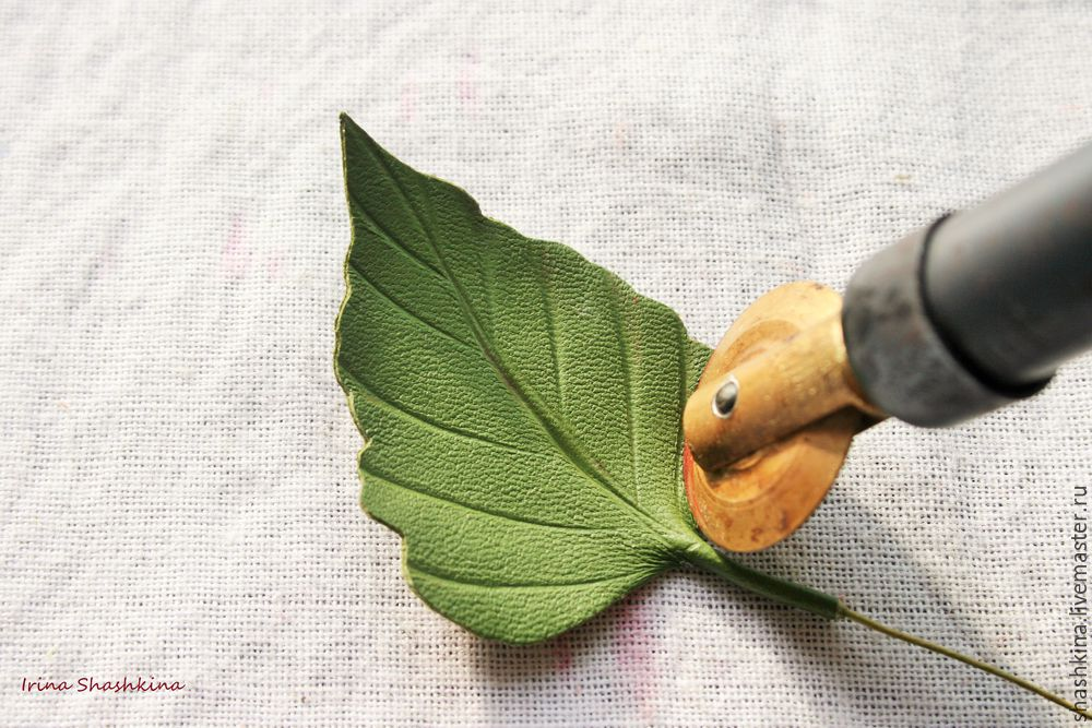 Chinese Lantern: Create Physalis Brooch Of Genuine Leather, фото № 13
