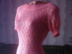 Аукциона на ажурное платье. Старт 1200 руб.. Ярмарка Мастеров - ручная работа, handmade.