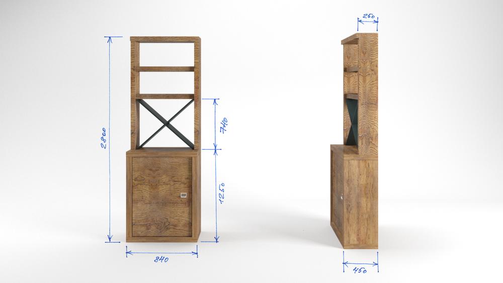 мебель на заказ, лофт стиль, интерьер барбершопа, лофт интерьер
