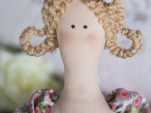 Кукла в стиле тильда. Хозяйка домашнего очага.. Ярмарка Мастеров - ручная работа, handmade.