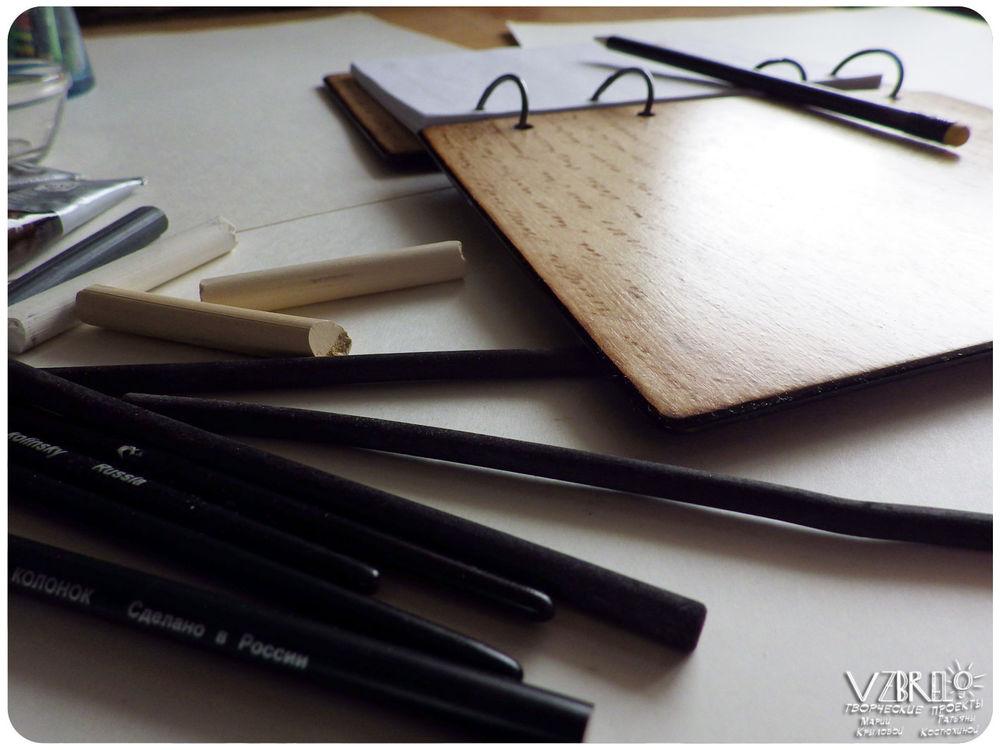 vzbrelo, деревянные блокноты, выжигание, что мы любим, деревянный скетчбук