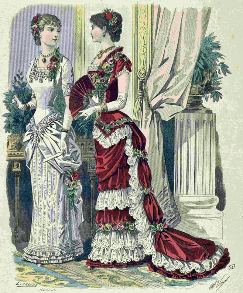 Восхитительная мода конца ХIХ века, фото № 10