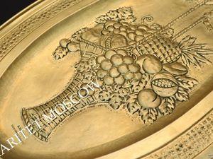 Раритетище Панно Большое латунь Dinant 26. Ярмарка Мастеров - ручная работа, handmade.