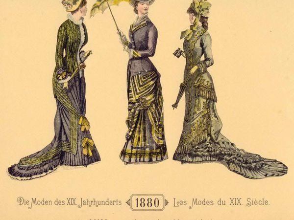 История костюма: турнюр | Ярмарка Мастеров - ручная работа, handmade