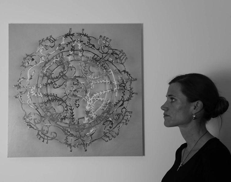 Картинки по запросу Ажурные творения из драгоценных металлов Wiebke Maurer.