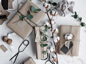 Упаковка подарков. Ярмарка Мастеров - ручная работа, handmade.