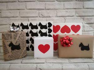 Виниловые наклейки для оформления работ и подарков. Ярмарка Мастеров - ручная работа, handmade.
