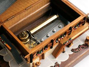 Большой Музыкальный Швейцарский Домик REUGE 1970г. Ярмарка Мастеров - ручная работа, handmade.