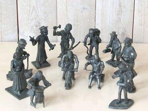 Редкость!  Коллекция оловянных миниатюр старинных профессий. Ярмарка Мастеров - ручная работа, handmade.