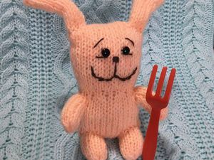 Мягкая игрушка ЗАЯЦ | Ярмарка Мастеров - ручная работа, handmade