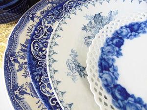 Ну как его не любить -все оттенки синего... | Ярмарка Мастеров - ручная работа, handmade