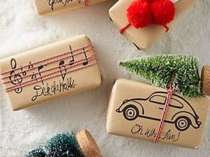 Несколько интересных идей упаковки новогодних подарков. Ярмарка Мастеров - ручная работа, handmade.