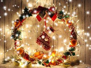 С новогодними каникулами и Рождеством !!!. Ярмарка Мастеров - ручная работа, handmade.
