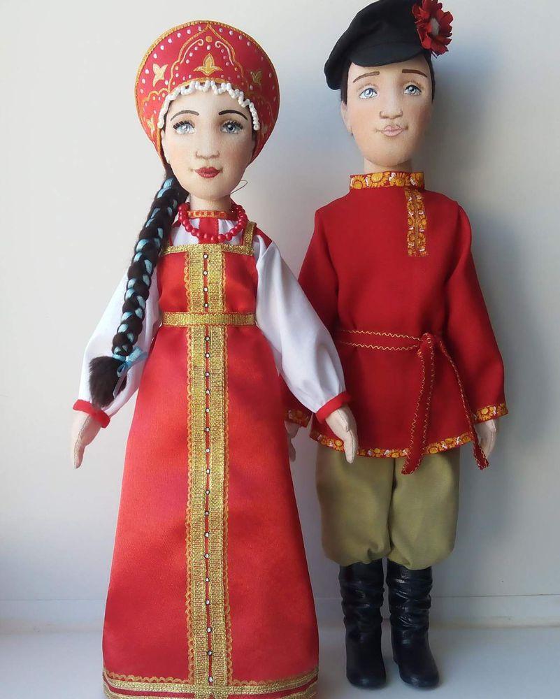 Сшить кукол в национальных костюмах 774