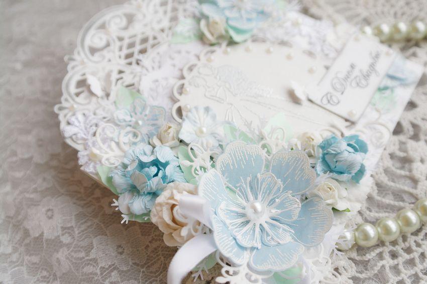 Свадебная открытка конверт, фото № 4