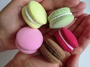 Kids' DIY: Modeling Macaroons with Polymer Clay. Livemaster - handmade
