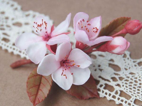 Дыхание весны: женственные украшения из полимерной глины   Ярмарка Мастеров - ручная работа, handmade