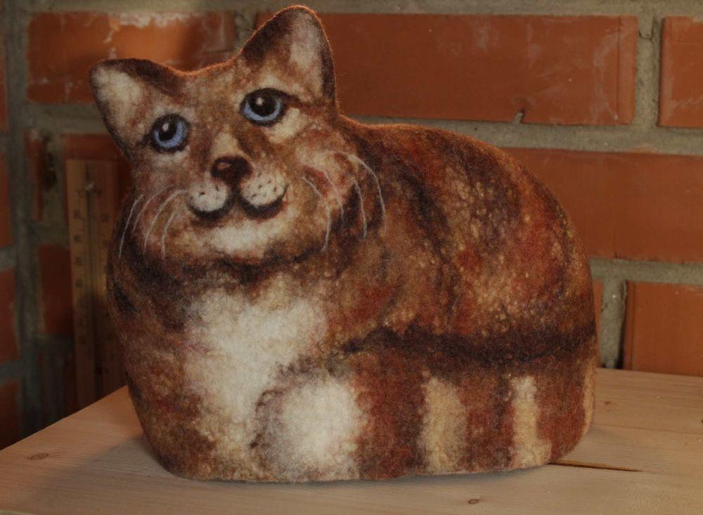 валяние кота