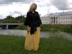 СКИДКА 50% на цветные шифоновые юбки. Ярмарка Мастеров - ручная работа, handmade.