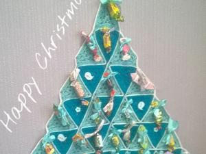 Вяжем адвент-календарь в форме елочки: видеурок. Ярмарка Мастеров - ручная работа, handmade.