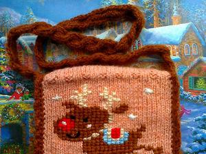 Новогодний олень | Ярмарка Мастеров - ручная работа, handmade