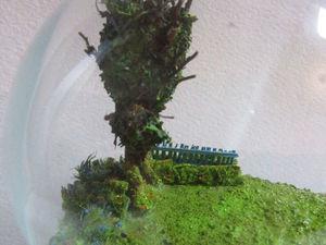 Третья работа миниатюра в лампочке. Ярмарка Мастеров - ручная работа, handmade.