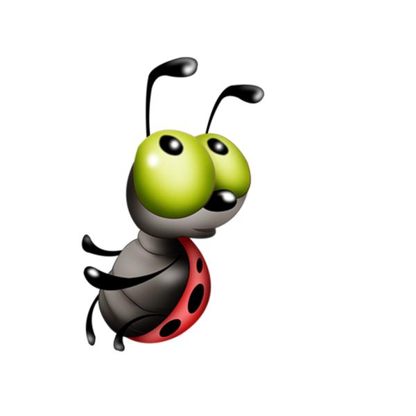 пчела, яркий