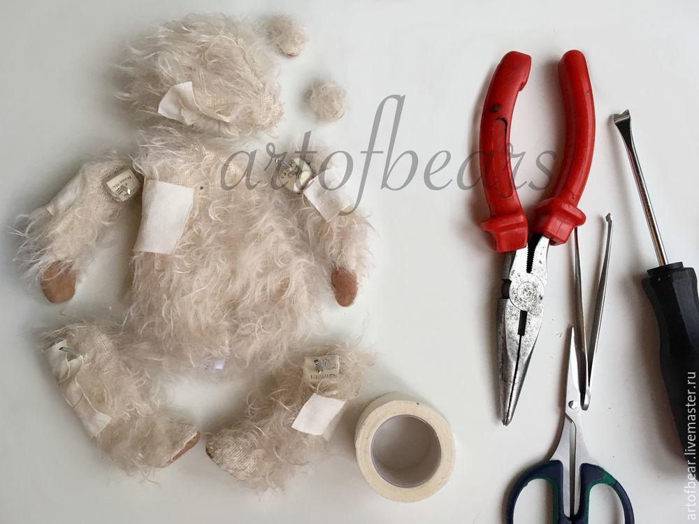 набивка мишек тедди, как сшить мишку тедди, как научиться шить мишек