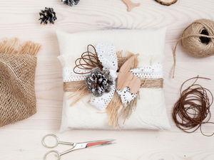 Упаковка для подарка в стиле «рустик». Ярмарка Мастеров - ручная работа, handmade.