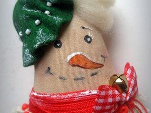 Снеговушка №3. Ярмарка Мастеров - ручная работа, handmade.
