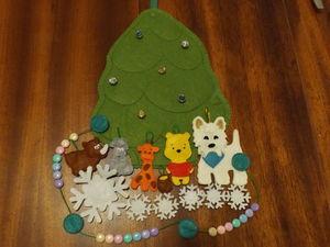 Новогодняя елочка, я тебя сошью!. Ярмарка Мастеров - ручная работа, handmade.